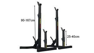MAGNUS ® MX5062 Hybrid Stands for Benches, Squats, Deadlift