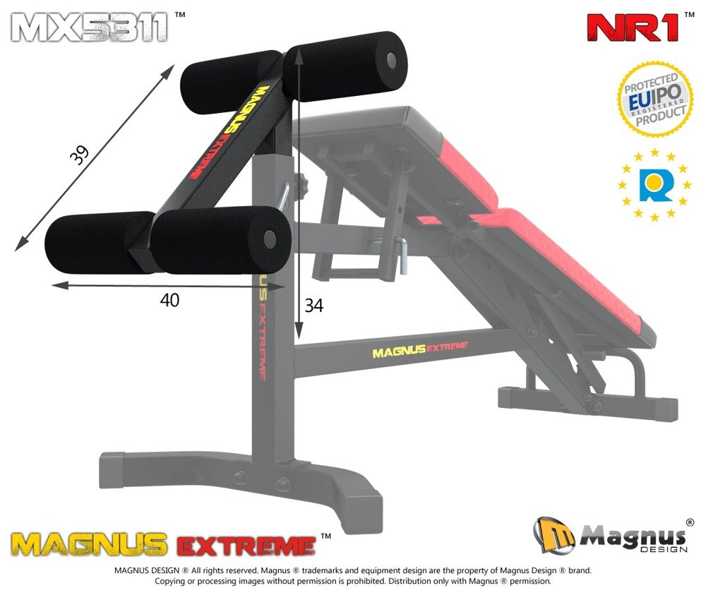 Miraculous Magnus Mx5311 Leg Lock Down For Abs Chest Workout Gmtry Best Dining Table And Chair Ideas Images Gmtryco