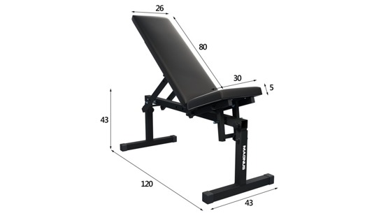 MAGNUS MC-L005 barbell bench for exercises