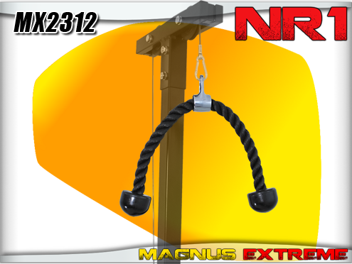 Rope for lat tower MX2312 triceps and back Magnus