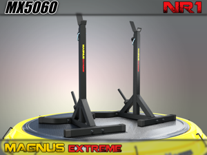 MAGNUS ® MX5060 Training squat stands for barbell