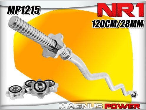 EZ curl bar 28mm 120cm Magnus Power MP1215