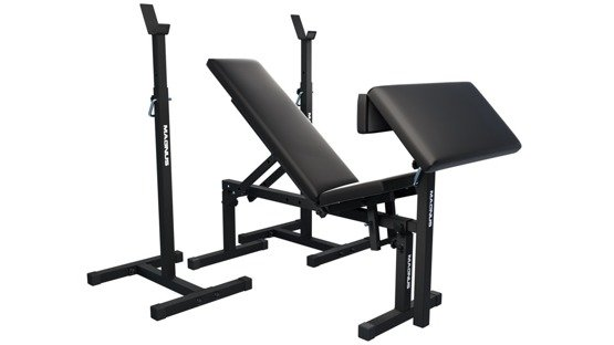Bench for home gym MAGNUS MC-L009 stands Scott bench
